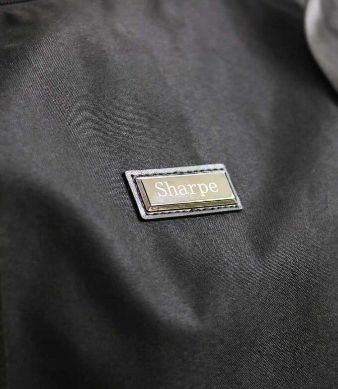Black Weekender Suit Carrier Bag Detail