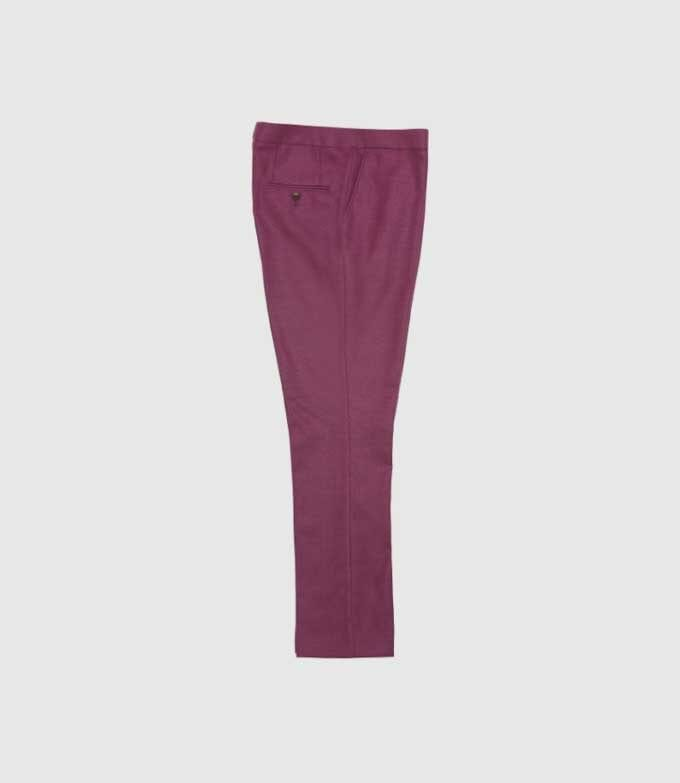 Maroon and burgundy suit pants or trousers