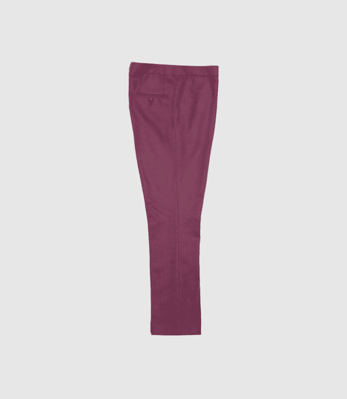 Maroon suit pants
