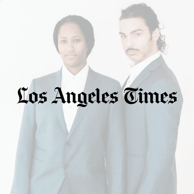 Sharpe Suiting Los Angeles Times feature thumbnail