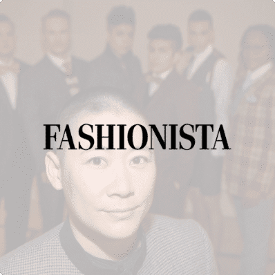 Press link to Fashionista feature
