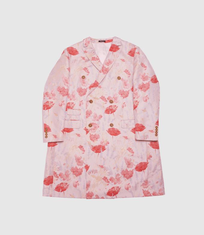 Pink rosy coat