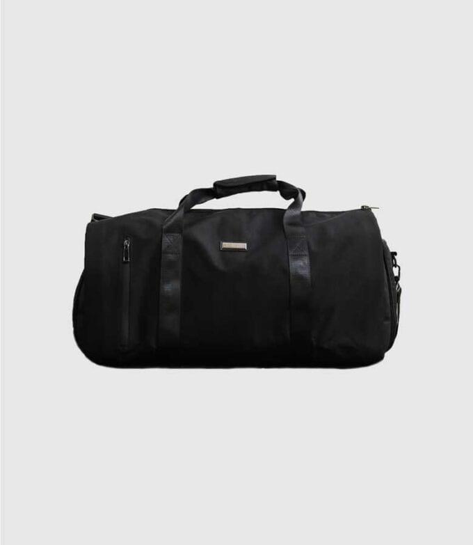 Black Weekender Suit Carrier Bag